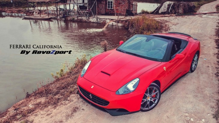 Ferrari California Touched by Revozport [Photo Gallery]
