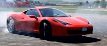 Ferrari Celebrates 8 Million Facebook Fans: 458 Donuts [Video]