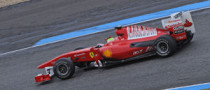 Ferrari Continues Jerez Action for Promotional Purposes