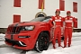 Ferrari Customizes 2012 Jeep Grand Cherokee SRT8