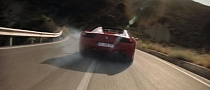 Ferrari Drifts the 458 Spider [Video]