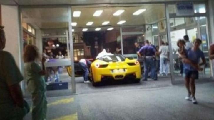 Ferrari Driver Shot In The Testicles Takes 458 Into