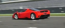 Ferrari Enzo Audio Explosion on Track [Video]