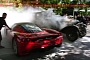Ferrari Enzo Nearly Catches Fire from Burning 1929 Bentley [Photo Gallery]