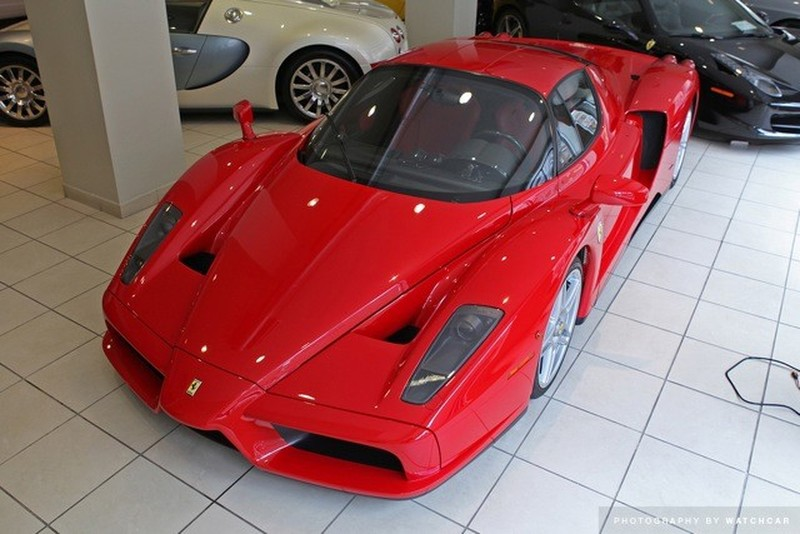 Ferrari Enzos Usually Sell For