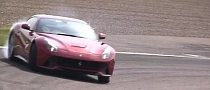 Ferrari F12 Berlinetta Drifting and Hooning [Video]