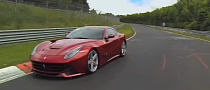 Ferrari F12 Berlinetta Hits the 'Ring with Alonso [Video]