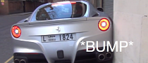 Ferrari F12 Berlinetta Parking Fail [Video]