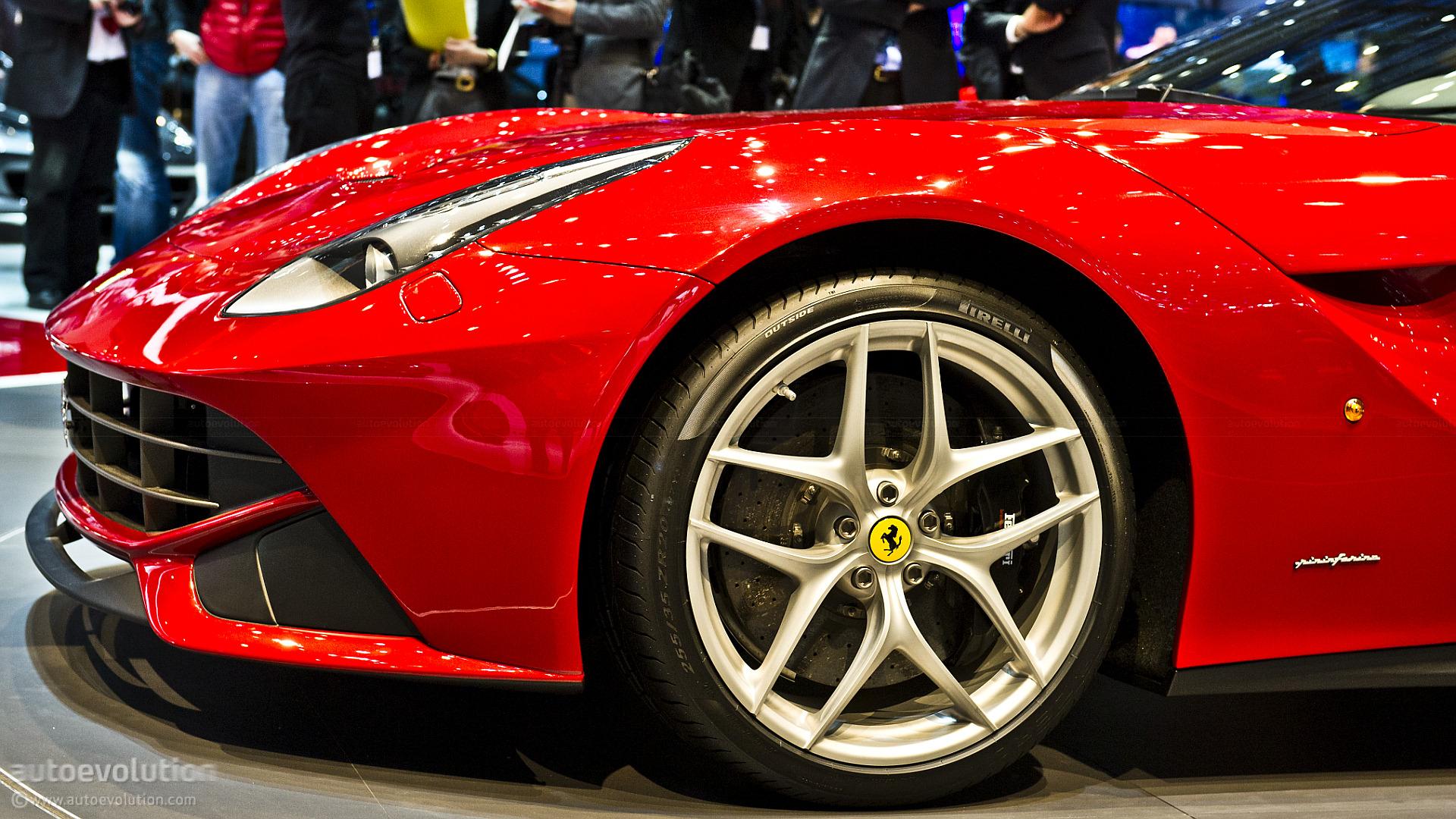 Ferrari F12 Berlinetta Tires Detailed  autoevolution