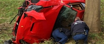 Ferrari F12 Crash: Totaled During Test Drive in Holland [Photo Gallery]