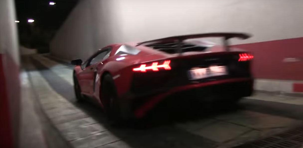 Ferrari F12 Tdf Vs Lamborghini Aventador Sv Sound Battle Is A V12