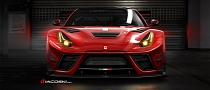 Ferrari F12XX Berlinetta Racer Rendering Released