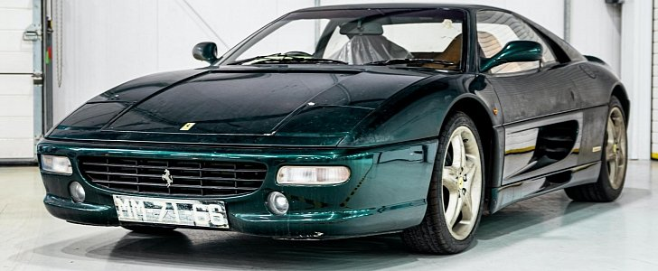 Ferrari F355 Berlinetta in Verde Silverstone Painfully Restored After 12 Years - autoevolution