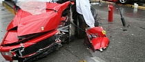 Ferrari F355 Crashed in Italy