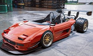 """Ferrari F355 """"Half Body"""" And the Renderings That Change How You See Supercars"""