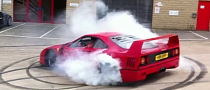 Ferrari F40 Bakes Donuts [Video]