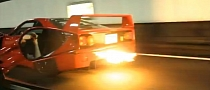 Ferrari F40 Spitting Flames [Video]