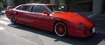 Ferrari F40 Stretch Limo Is One Weird Ride