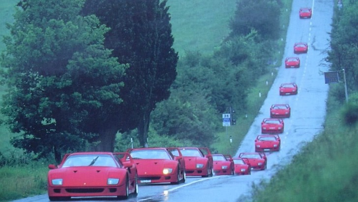 Ferrari F40 - the Long and Winding Road