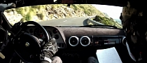 Ferrari F430-Based Lancia Stratos - Hooning it at Mallorca Rally [Video]