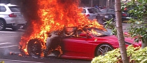 Ferrari F430 Burns to a Crisp in Boca Raton, Florida [Video] [Photo Gallery]