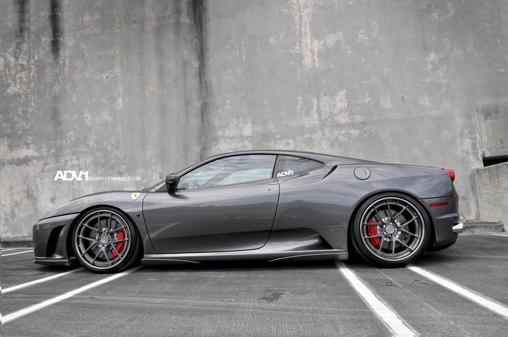 Ferrari F430 Gets Adv 1 Wheels Autoevolution