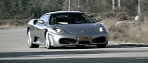 Ferrari F430 Racing at a Military Base [Video]