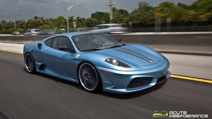 Ferrari F430 Scuderia Gets Axiom Wheels [Photo Gallery]