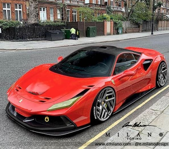 Ferrari 488 Tributo: Ferrari F8 Evo Rendered As 488 Pista Replacement