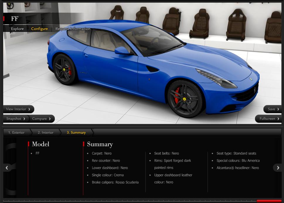 Ferrari Ff Configurator Goes Online Autoevolution