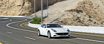 Ferrari FF Driven on Jebel Hafeet Mountain Road