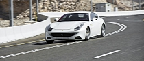 Ferrari FF Driven on Jebel Hafeet Mountain Road: the Pictures