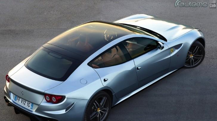 Ferrari Ff Gets Four Doors In New Rendering Autoevolution