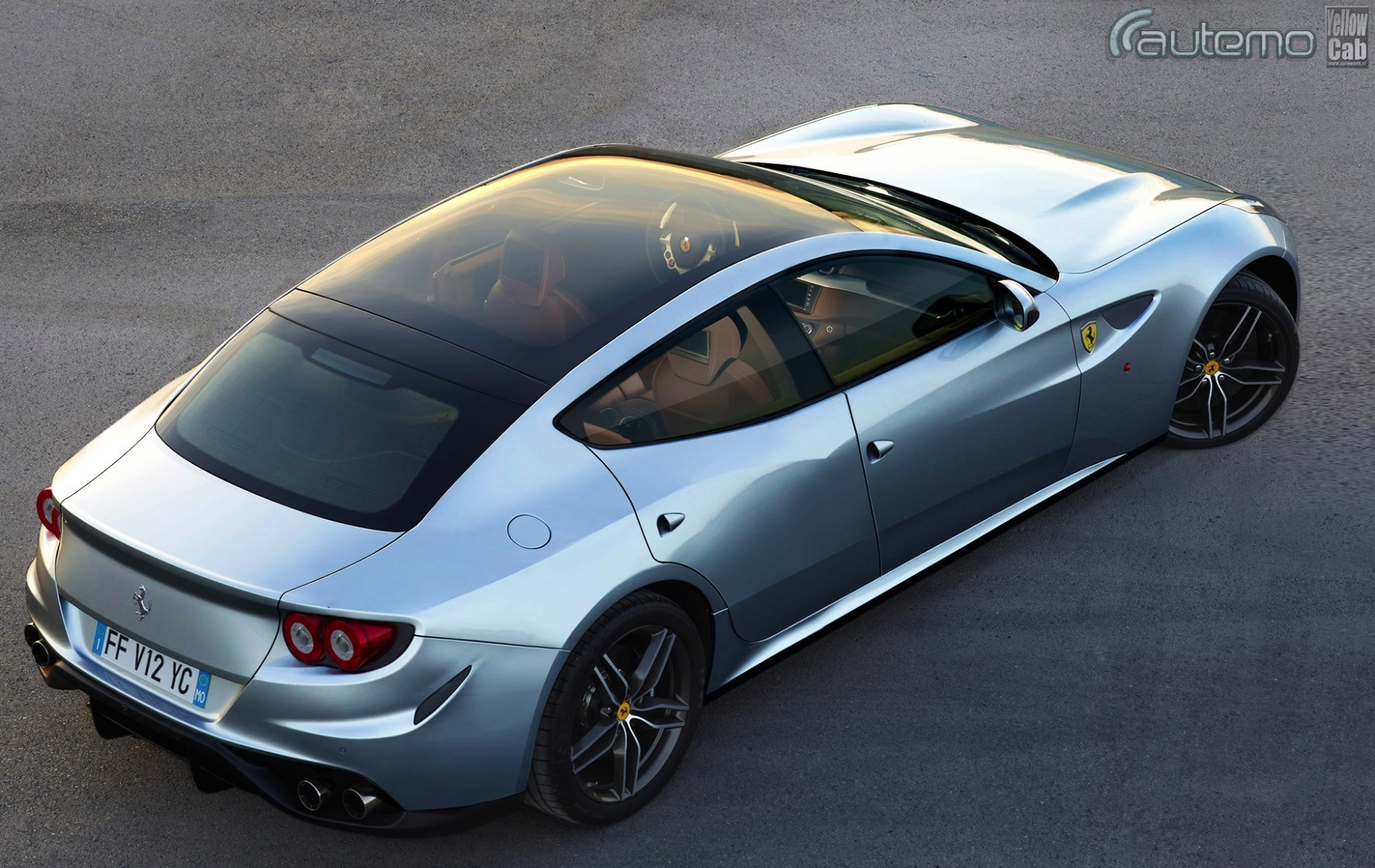 ferrari ff gets four doors in new rendering autoevolution. Black Bedroom Furniture Sets. Home Design Ideas