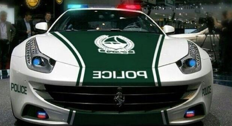 Ferrari FF Joins Dubai Police: Be Afraid, Be Very Afraid