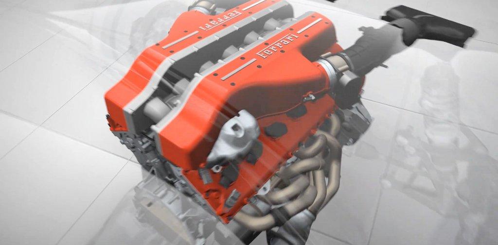 Ferrari FF V12 GDi Engine Showcased in New Video - autoevolution