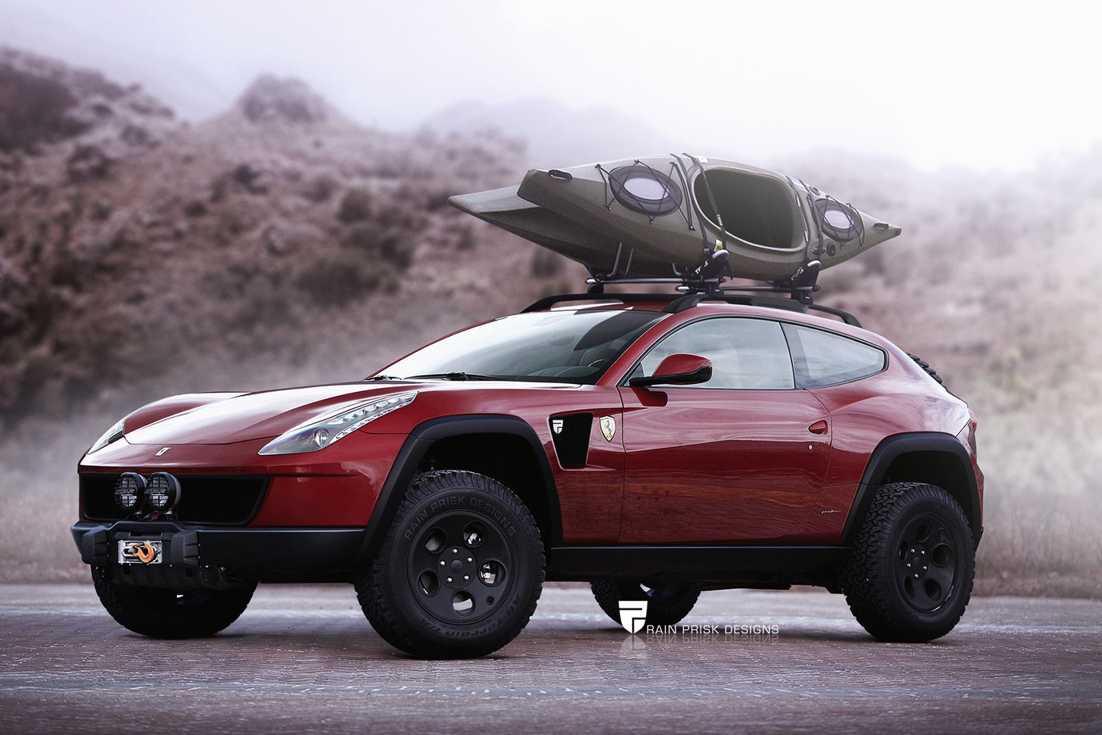 Ferrari FF with Offroad Equipment Would Make for the Coolest Crossover Ever