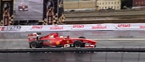 Ferrari Formula One Car Crashed in Moscow [Video]