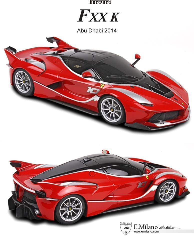 ferrari fxx k racecar 1 18 scale model is almost here. Black Bedroom Furniture Sets. Home Design Ideas