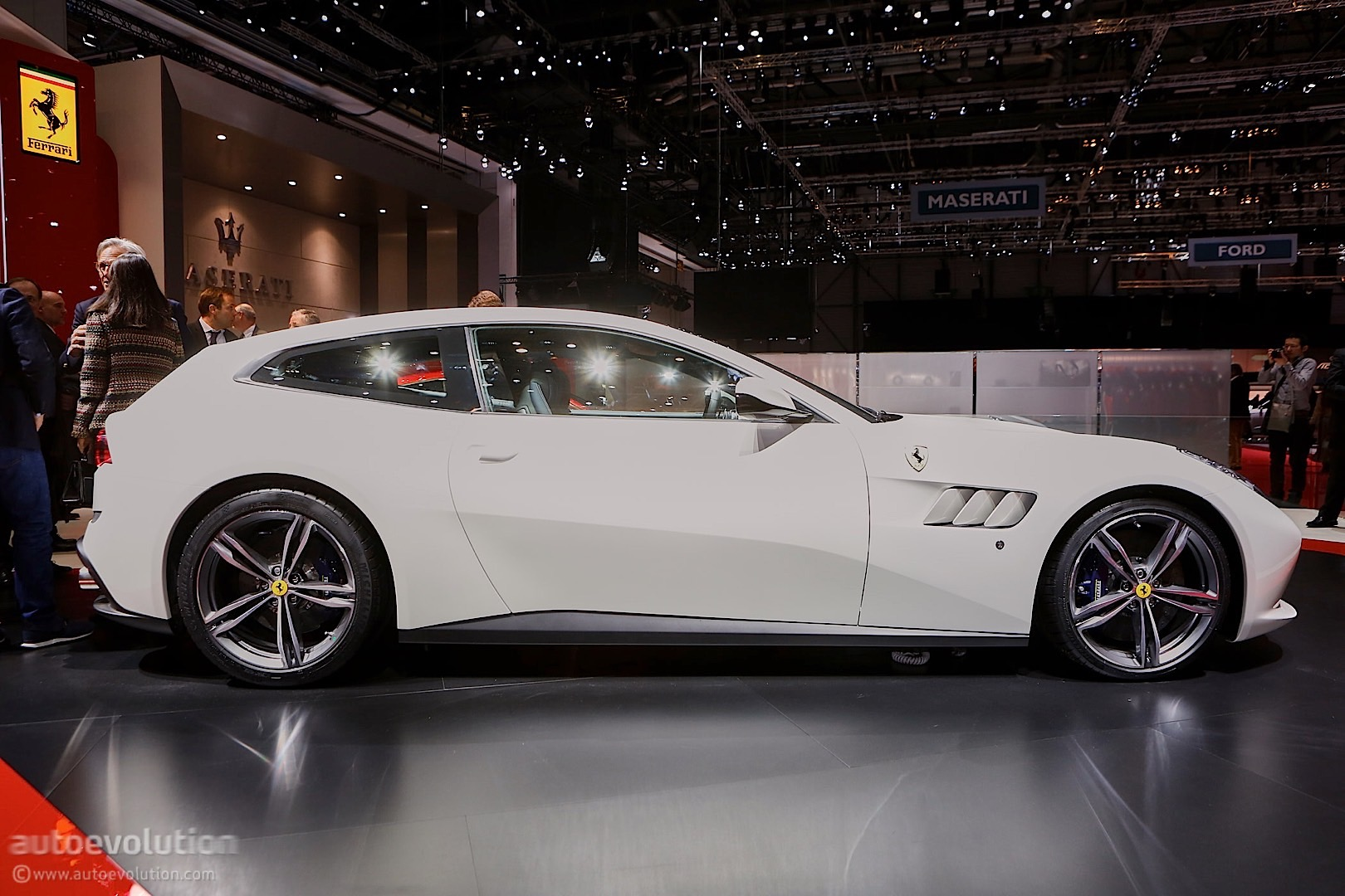 2016 Ferrari Gtc4lusso Is Dressed To Impress In Geneva