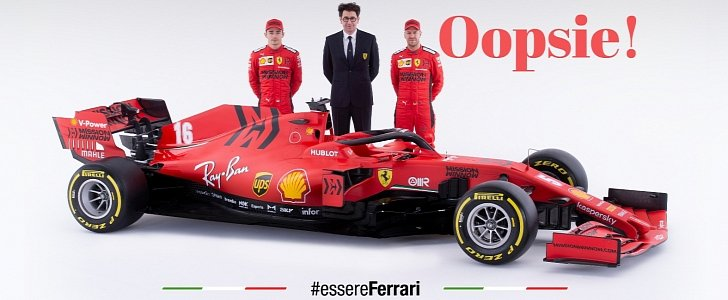 Ferrari Is In Legal Trouble Over 2020 Formula 1 Car Just Days After Launching It Autoevolution