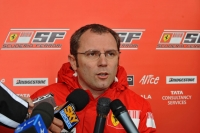 Stefano Domenicali, short briefing at Shanghai, ahead of the Chinese Grand Prix
