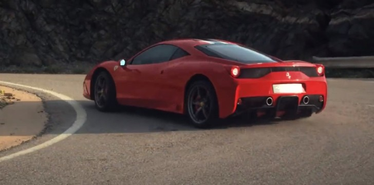 Ferrari Oficially Drifts the 458 Speciale [Video]
