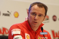 Stefano Domenicali, at the International Ski Meeting in Madonna di Campiglio