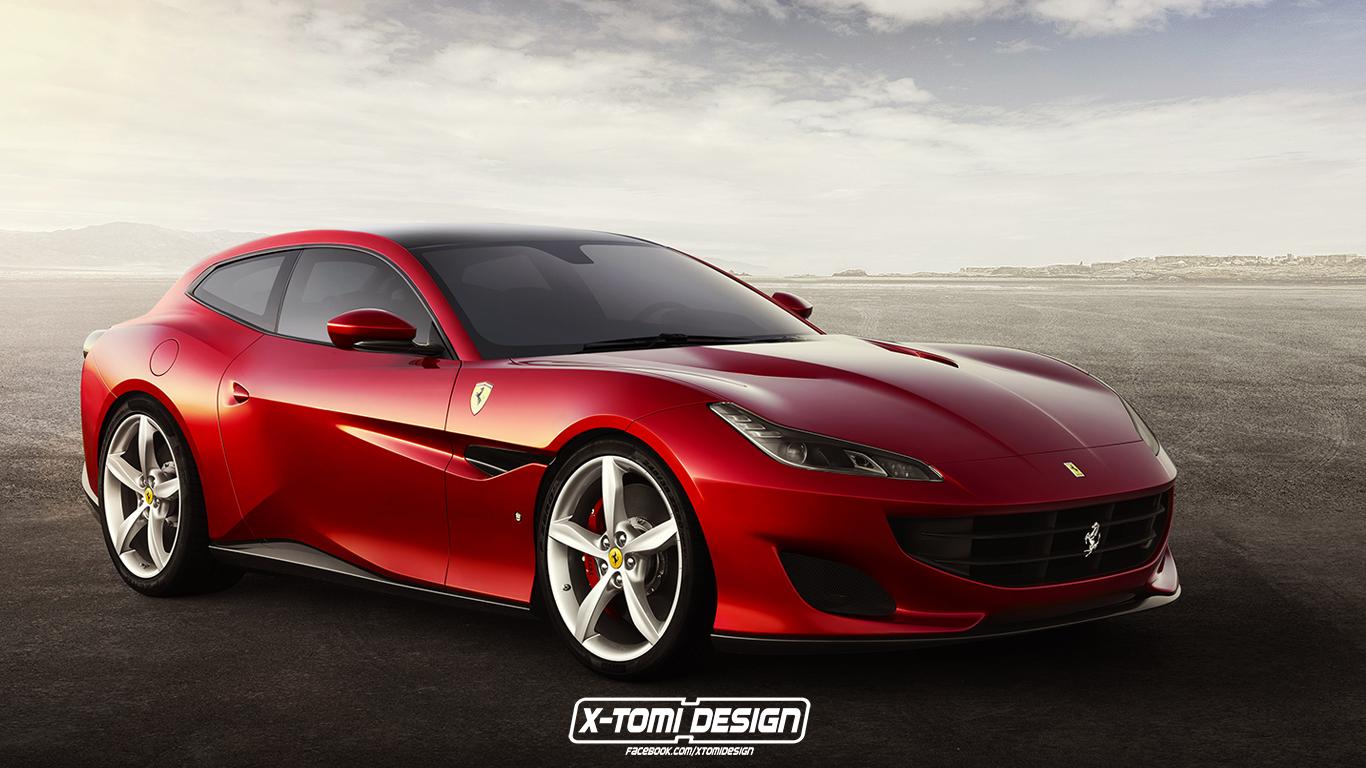 Ferrari Portofino Shooting Brake Rendering Doesn T Need To
