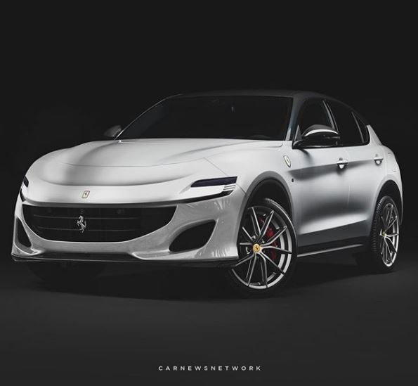 Ferrari Purosangue SUV Rendered with Hybrid Tech, Looks