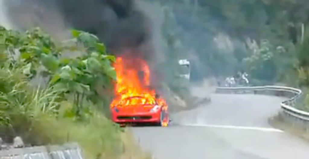 Ferrari Recalls The 458 Italia Due To Fire Risk