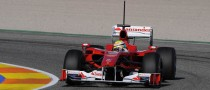 Ferrari's Massa Tops Morning Sheets in Valencia
