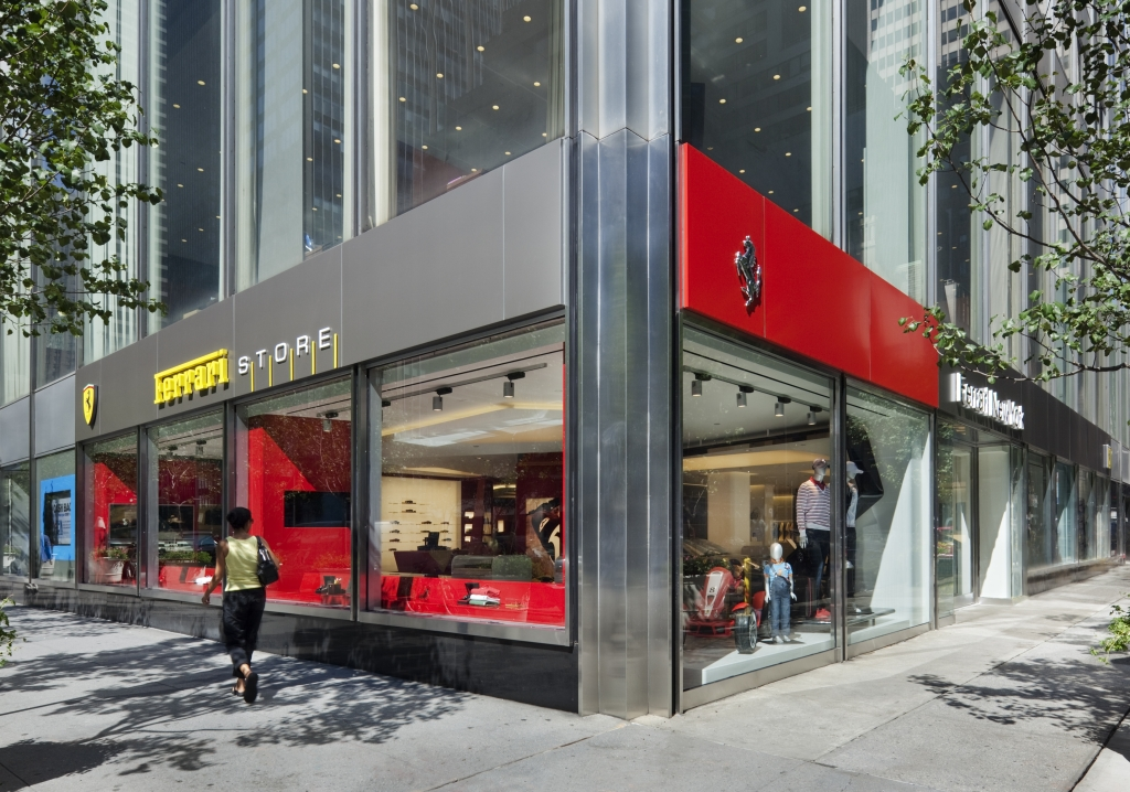 Ferrari Store Opens In Manhattan Autoevolution