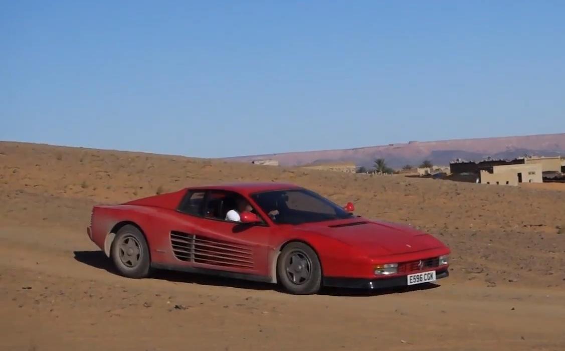 Sahara Desert Car Race